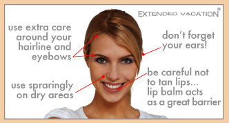 Moroccan Mineral Facial Tanner Tips